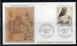 FDC - 2446 - De Vinci - 1980-1989