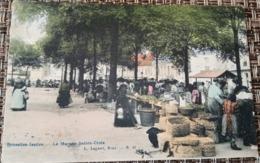 Ixelles : Marché   Sainte Croix - Elsene - Ixelles