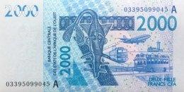 West African States 2.000 Francs, P-116Aa (2003) - UNC - IVORY COAST - Westafrikanischer Staaten
