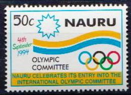 Nauru MNH Stamp - Jeux Olympiques