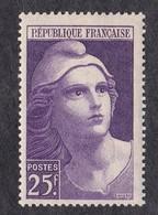 FRANCE   Y&T N ° 731  NEUF ** - 1945-54 Marianne (Gandon)