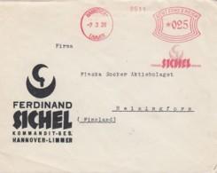 Deutsches Reich Brief Werbung 1921 Rotfrankerung - Covers