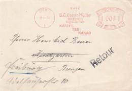 Deutsches Reich Brief Werbung 1932 Rotfrankerung - Covers