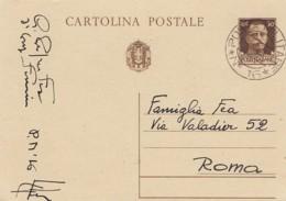 Italien Posta Militaire Censor Postkarte 1940-45 - 1900-44 Vittorio Emanuele III