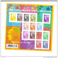 Bloc Feuillet N° 4409 Les Couleurs De Marianne, De 2009, Valeur Faciale + De 10 Euros - Blocs & Feuillets