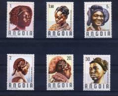 ANGOLA 1987 TRADITIONAL HAIRDRESSERS - Angola