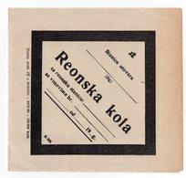 1950s  YUGOSLAVIA, RAILWAY MARKING, REGIONAL WAGGON, 14 X 15 Cm - Biglietti Di Trasporto
