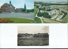 3 Cartes -  Marcoing     -  (Nord) - Marcoing