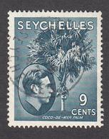 Seychelles 1938  9c  SG138a  Used - Seychelles (...-1976)