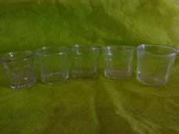 Lot  Bocaux Anciens -confiture Ou Autre Dont 1 Val St Lambert 4 - Dishware, Glassware, & Cutlery