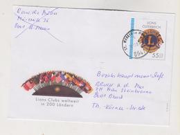 AUSTRIA,  Postal  Stationery Cover LIONS - 1945-.... 2ème République