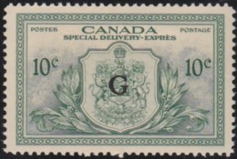 Canada   .    SG     .     OS 21      .    *      .    Mint-hinged     .   /   .   Ongebruikt - 1937-1952 Regno Di George VI
