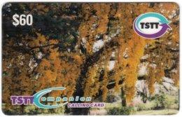 TRINIDAD & TOBAGO A-120 Prepaid TSTT - Plant, Tree - Used - Trinidad En Tobago