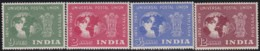 India      .    SG  .     325/328      .     *      .   Mint-hinged      .   /   .   Ongebruikt - 1936-47  George VI