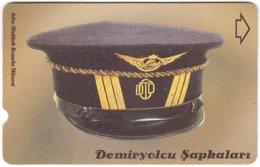TURKEY C-404 Magnetic Telekom - Traffic, Historic Railway Hat - Used - Türkei