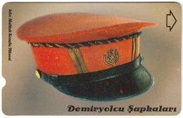 TURKEY C-405 Magnetic Telekom - Traffic, Historic Railway Hat - Used - Türkei
