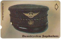 TURKEY C-406 Magnetic Telekom - Traffic, Historic Railway Hat - Used - Türkei