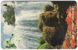 VIETNAM A-088 Magnetic Uniphonekad - Landscape, Waterfall - 14VMCA - Used - Vietnam