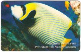 VIETNAM A-092 Magnetic Uniphonekad - Animal, Sea Life, Fish - 3MVSB - Used - Vietnam