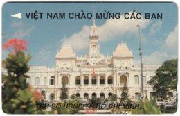 VIETNAM A-102 Magnetic Uniphonekad - Architecture, Historic Building - 77MVHA - Used - Vietnam