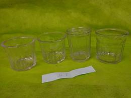 Lot  Bocaux Anciens -confiture Ou Autre  -2 500g Et  1  236g NS - Dishware, Glassware, & Cutlery
