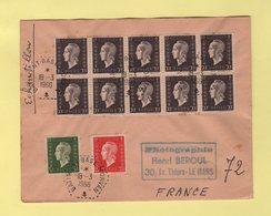 Batiment Base Morvan - 18-3-1966 - Storia Postale