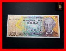 NICARAGUA 50.000 50000 Cordobas 1989 P. 161  UNC - Nicaragua