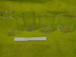 Lot  Bocaux Anciens -confiture Ou Autre  -2 500g E -  1  ? - 1 De 42cl - Dishware, Glassware, & Cutlery