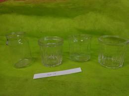 Lot  Bocaux Anciens -confiture Ou Autre  -2 500g  -  1 375g - 1 42cl Sn - Dishware, Glassware, & Cutlery