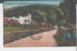 Palmetto Vale. Harrington Sound, Bermuda. De Armande à Mme Eva Lambin à Paris. 1933. - Bermudes