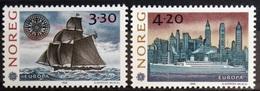 EUROPA        ANNEE 1992        NORVEGE        N° 1053/1054           NEUF** - 1992