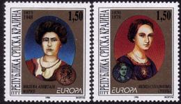 Croatie Serbe (Krajina) - Europa CEPT 1996 - Yvert Nr. 56/57 - Michel Nr. 59/60  ** - Europa-CEPT
