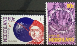 EUROPA        ANNEE 1992        PAYS-BAS        N° 1406/1407           NEUF** - 1992