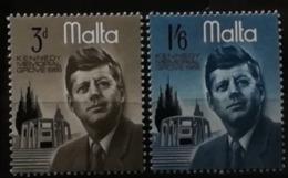 Malte 1966 / Yvert N°344-345 / ** - Malte