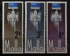 Malte 1967 / Yvert N°352-354 / ** - Malta