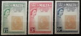 Malte 1960 / Yvert N°274-276 / ** - Malte