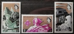 Malte 1959 / Yvert N°265-267 / ** - Malta
