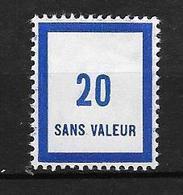 France Fictif: N° F131** ,fraîcheur Postale - Phantomausgaben