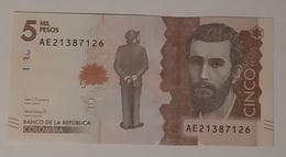 Colombie - 5000 Pesos - 29/08/2017 - UNC - Kolumbien