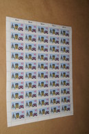 Bloc 50 Timbres,Luxembourg 100 Jahre Automobile 80,strictement Neuf Avec Gomme - Full Sheets