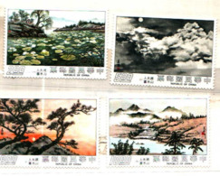 94129) Taiwan (Formosa) 1975-PITTURE DIMADAME TCHANG KAI-CHEK- Serie Cpl-4V.-MNH** - 1945-... Republic Of China
