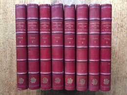 Alphonse De LAMARTINE : Histoire De La Turquie, 8 Volumes, Maroquin. EO 1854. - 1801-1900