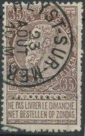 [47880]TB//O/Used-N° 61, TB Obl 'Heyst-Sur-Mer', Nipa +5? - 1893-1800 Fijne Baard