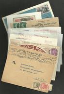 Lot D'enveloppes & De Cartes Diverses - France