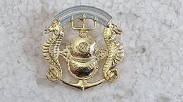 Argentina Argentine Navy Tactical Scuba Diver Underwater  Badge #11 - Marine