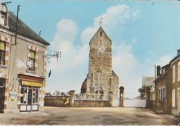 14 Vouilly Le Bourg église Commerce Avec Publicité Banania  -s19 - France