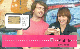 T-MOBILE * MOBILE * GSM * SIM CARD * WOMAN * GIRL * MAN * BOY * T-Mobile 03 * Czech Republic - Tchéquie