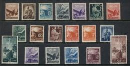 Italy 1945-47 Patriotic Pictorials MUH - 6. 1946-.. República