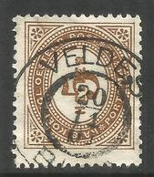 AUSTRIA / SLOVENIA. 1900. 5h POSTAGE DUE. VELDES CANCEL - 1850-1918 Empire