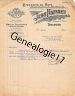 31 2707 TOULOUSE HTE GARONNE 1921 BRASSERIE DU NORD Ets JEAN HAFFNER Avenue D Paris BIERE LA TOULOUSAINE A GENIS - France